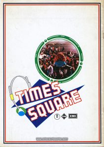 1981 Japanese program book for TIMES SQUARE (1980), p. 24 (back cover)