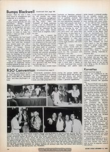 "Page 119 of music industry trade magazine, with briefmention of TIMES SQUARE (1980) and soundtrack ad on the back cover [Relevant text:] Dreamland's president Chinn and vice presidents of marketing and promotion Michael Dundas and Rick Swig showed a special music and slide presentation featuring the groups Spider and Consenting Adults and artists Michael Des Barres, Suzi Quatro and Holly Penfield. Quatro also made a personal appearance. Dreamland president Nicky Chinn presents Suzi Quatro, who appeared in support of her forthcoming Dreamland album and her single, ""Rock Hard,"" which also appears on the RSO ""Times Square"" soundtrack."