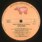 """TIMES SQUARE original soundtrack album, Mexico, 1981, side 3 label Text: HECHO EN MEXICO DISTRIBUIDO POR POLYDOR, S.A. MARCA REGISTRADA RESERVADOS TODOS LOS DERECHOS DEL PRODUCTOR FONOGRAFICO Y DE LA OBRA PROHIBIDA SU EJECUCION PUBLICA CON FINES DE LUCRO RSO 16370/A2 2658 145 2479 264 1 DISCO 2 ℗ 1980 MUSCIA ORIGINAL DE LA PELICULA """"TIMES SQUARE"""" Productor Ejecutivo: BILL OAKES 1. TU HIJA ES UNICA (Your daughter is one) 2:10 -B. Mernit-N. Ross-J. Brackman- *ROBIN JOHNSON AND TRINI ALVARADO* 2. BABILONIA SE QUEMA (Babylon's burning) 2:34 -J. Jennings-D. Ruffy-M. Owen-P. Fox- *THE RUTS* 3. NO PUEDES APRESURAR EL AMOR (You can't hurry love) 3:04 -E. Holland-L. Dozier-B. Holland- *D.L. BYRON* 4. VE POR EL CAMINO DIFICIL (Walk on the wild side) 4:12 -L. Reed- *LOU REED* 5. NO FUE EN LA NOCHE (The night was not) 3:08 -D. Child- *DESMOND CHILD AND ROUGE*"""