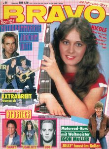 Bravo No. 21, May 19, 1982, German pop culture magazine
