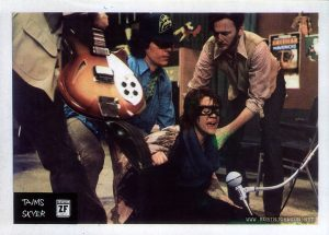 1981 Yugoslavian lobby card for TIMES SQUARE (1980), 2 of 12