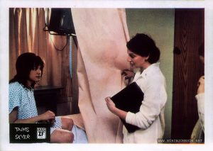 1981 Yugoslavian lobby card for TIMES SQUARE (1980), 3 of 12