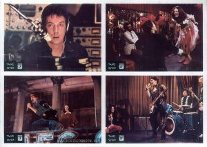1981 Yugoslavian lobby cards for TIMES SQUARE (1980)