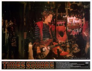 TIMES SQUARE UK lobby card set 1, 1981, of 16