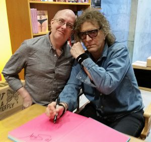 Me and Mick Rock