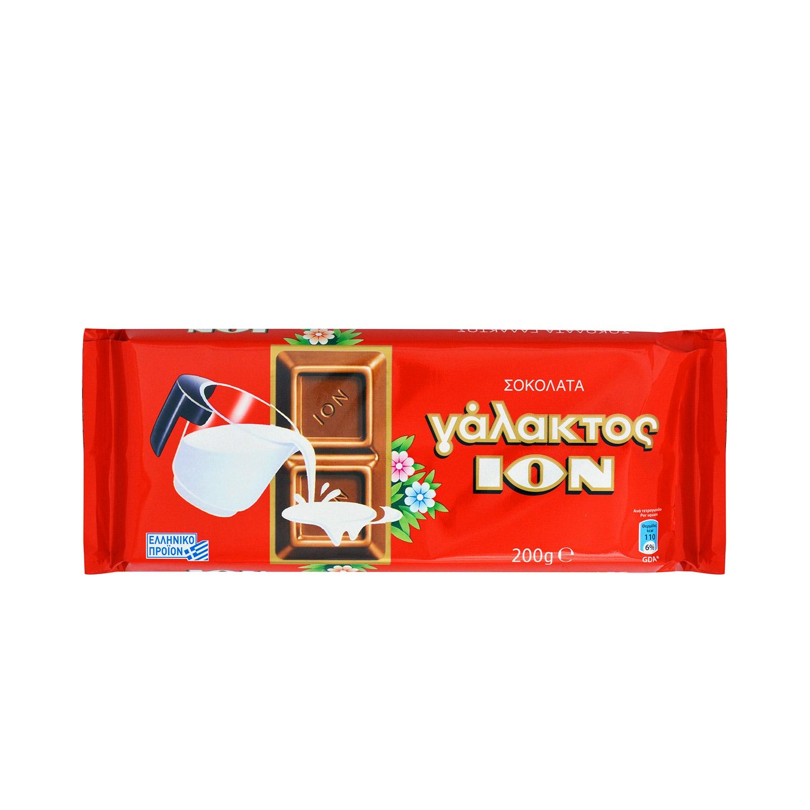 ION σοκολάτα logo
