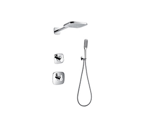 Thermostatic Concealed Shower Mixer (FH8395-669)