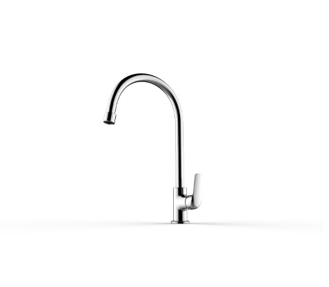 Single lever swan neck cold tap (N091214)