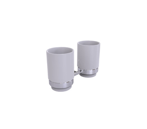 Basic Double tumbler holder (IDC-A0225)