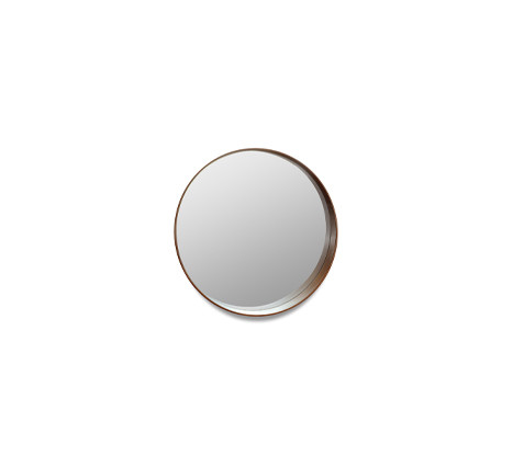 Round mirror with frame - B (Large version)