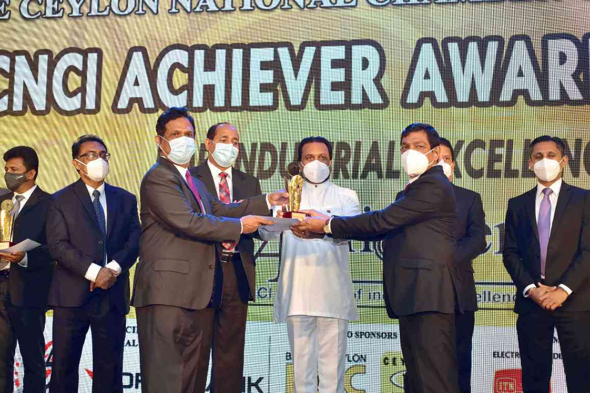Rocell seals top honours at CNCI Achiever and Sumathi Awards