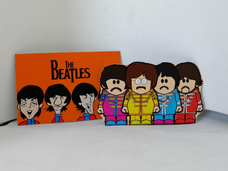 2 ímãs - Beatles