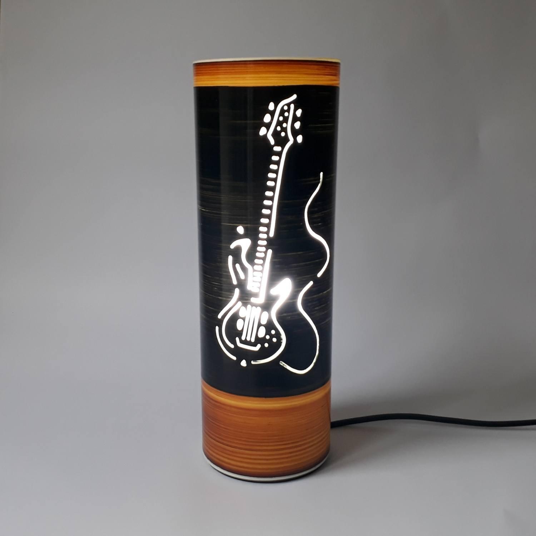 Abajur Luminária Guitarra