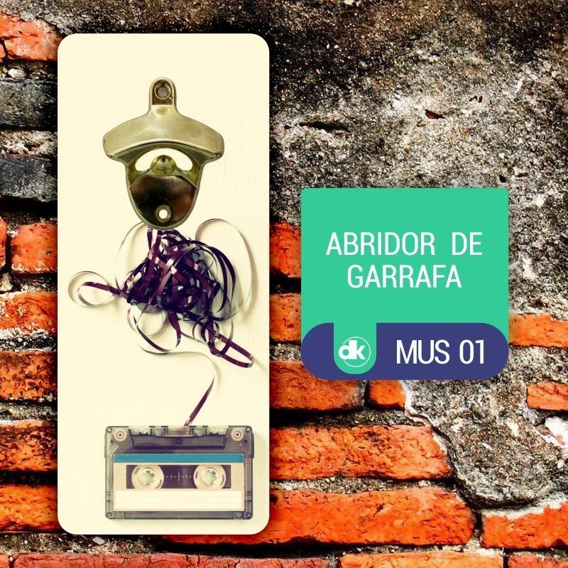 Abridor de Garrafas Dekorarte MUS01