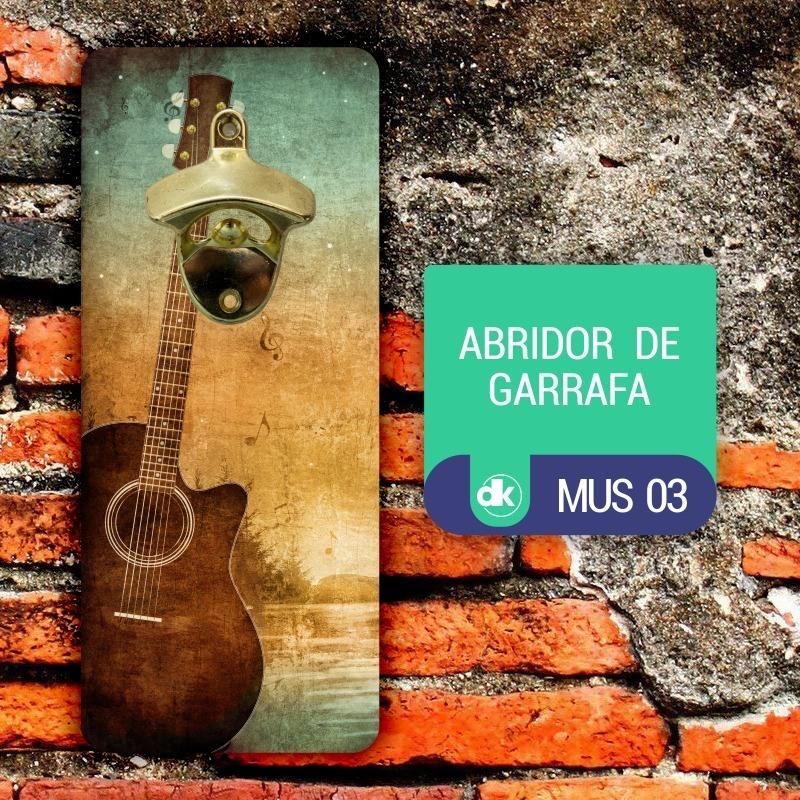 Abridor de Garrafas Dekorarte MUS03