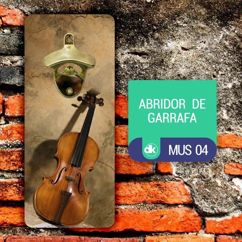 Abridor de Garrafas Dekorarte MUS04