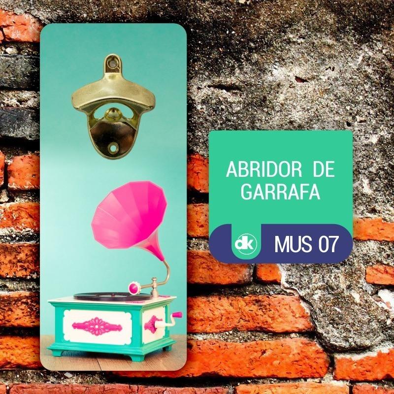 Abridor de Garrafas Dekorarte MUS07