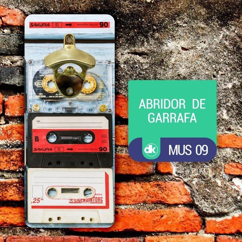 Abridor de Garrafas Dekorarte MUS09