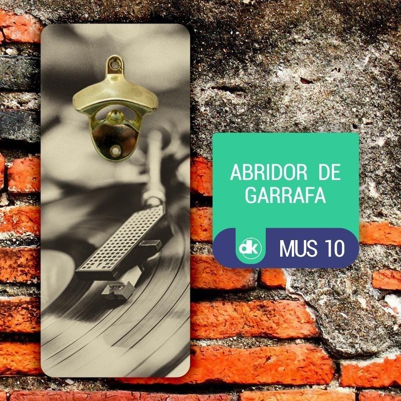 Abridor de Garrafas Dekorarte MUS10