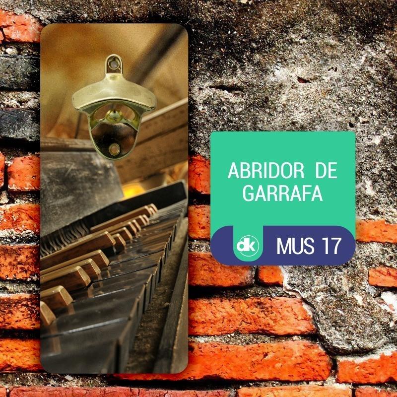 Abridor de Garrafas Dekorarte MUS17