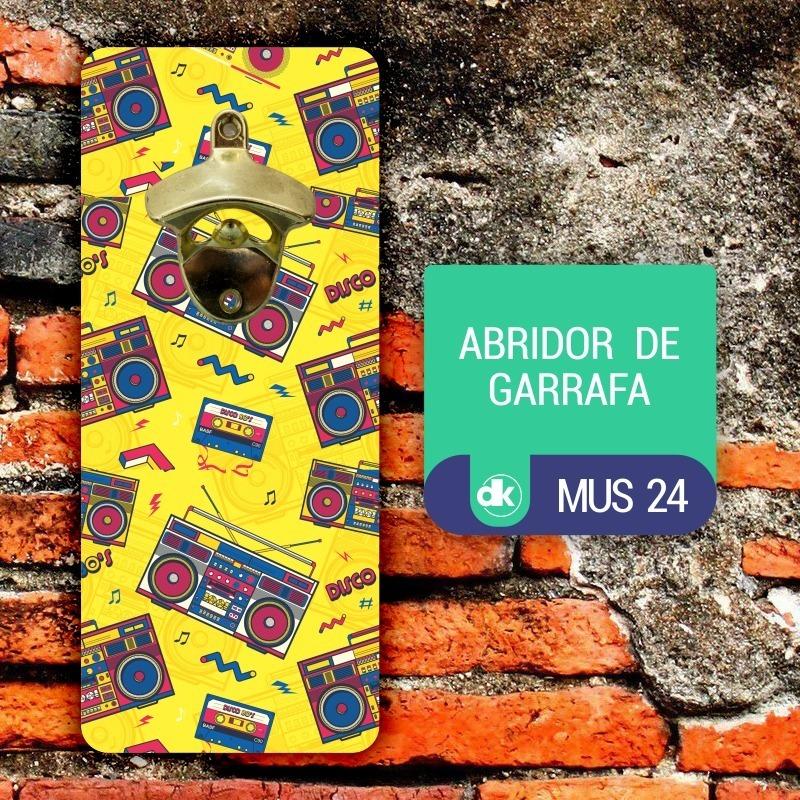 Abridor de Garrafas Dekorarte MUS24