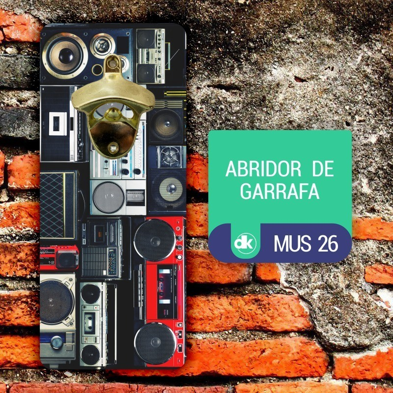 Abridor de Garrafas Dekorarte MUS26