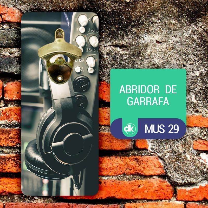 Abridor de Garrafas Dekorarte MUS29