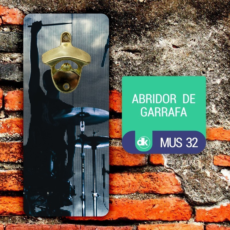 Abridor de Garrafas Dekorarte MUS32