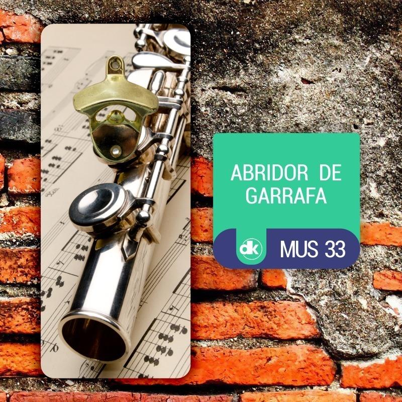 Abridor de Garrafas Dekorarte MUS33