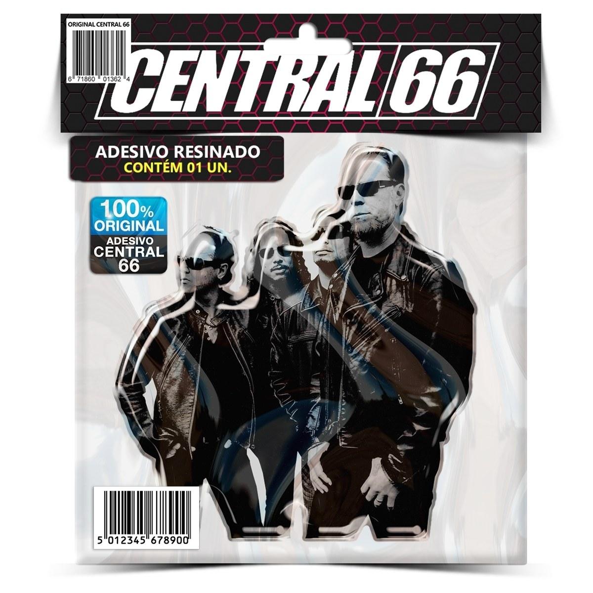 Adesivo Banda Metallica – Central 66
