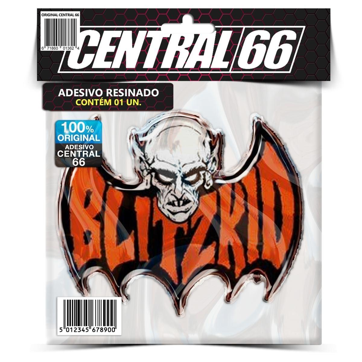 Adesivo Blitzkid logo – Central 66