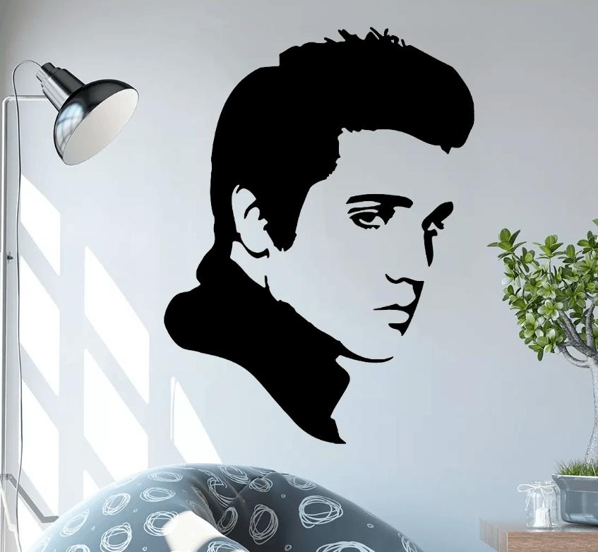 Adesivo De Parede - Elvis Presley