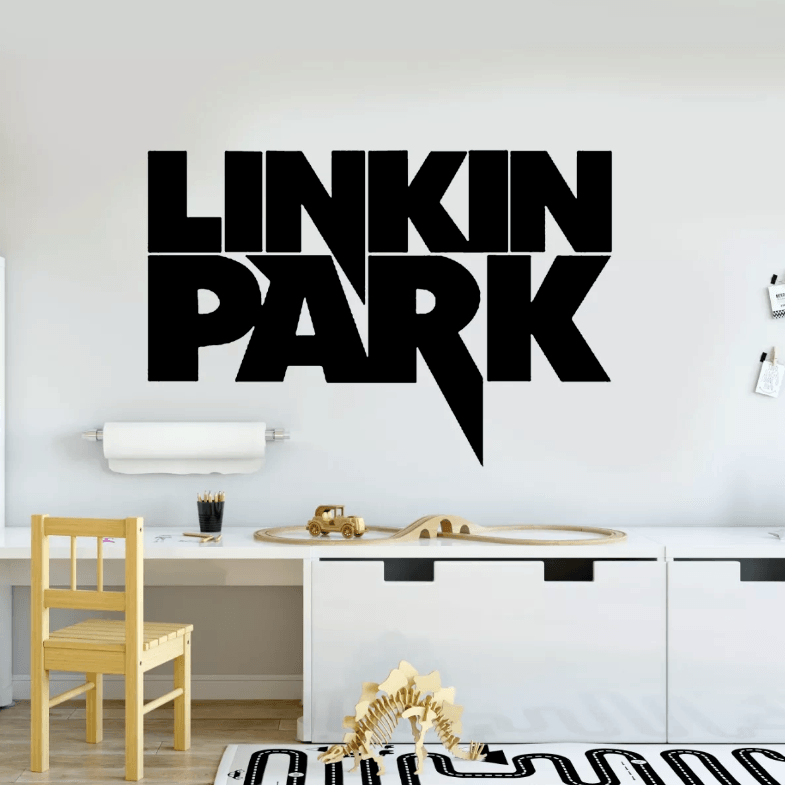 Adesivo De Parede - Linkin Park