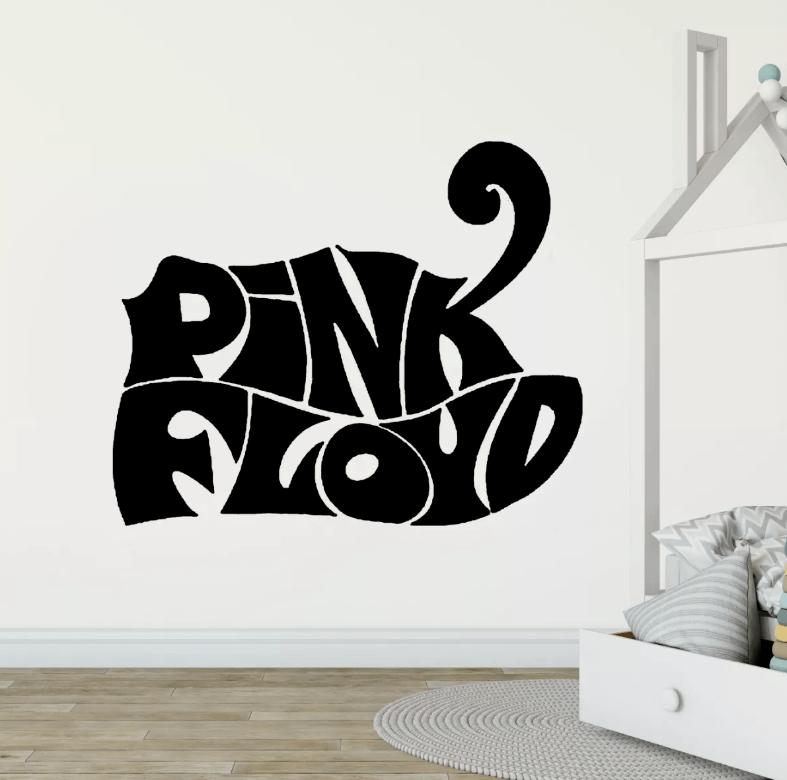 Adesivo De Parede - Pink Floyd