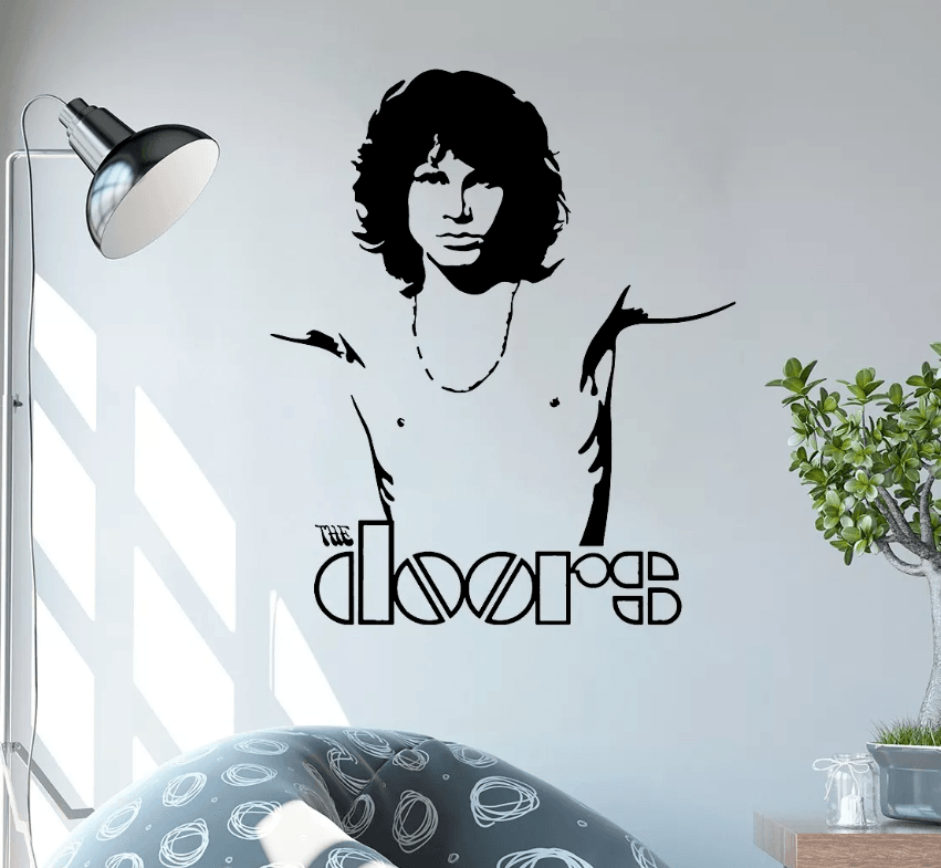 Adesivo De Parede - The Doors - Jim Morrison
