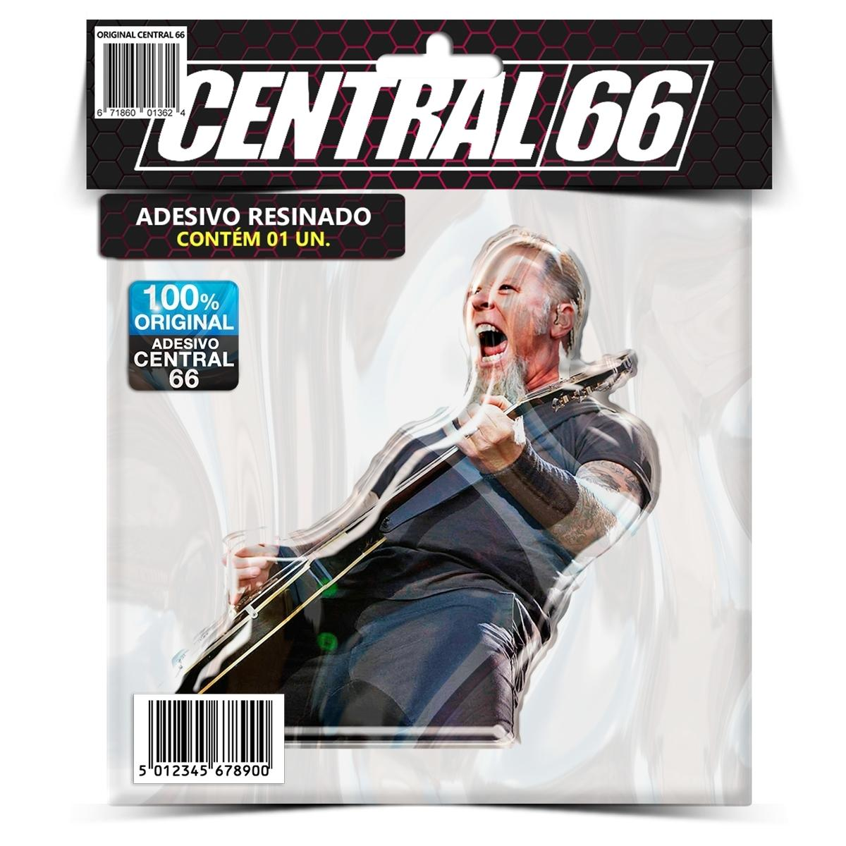 Adesivo James Hatfield Metallica M02 – Central 66