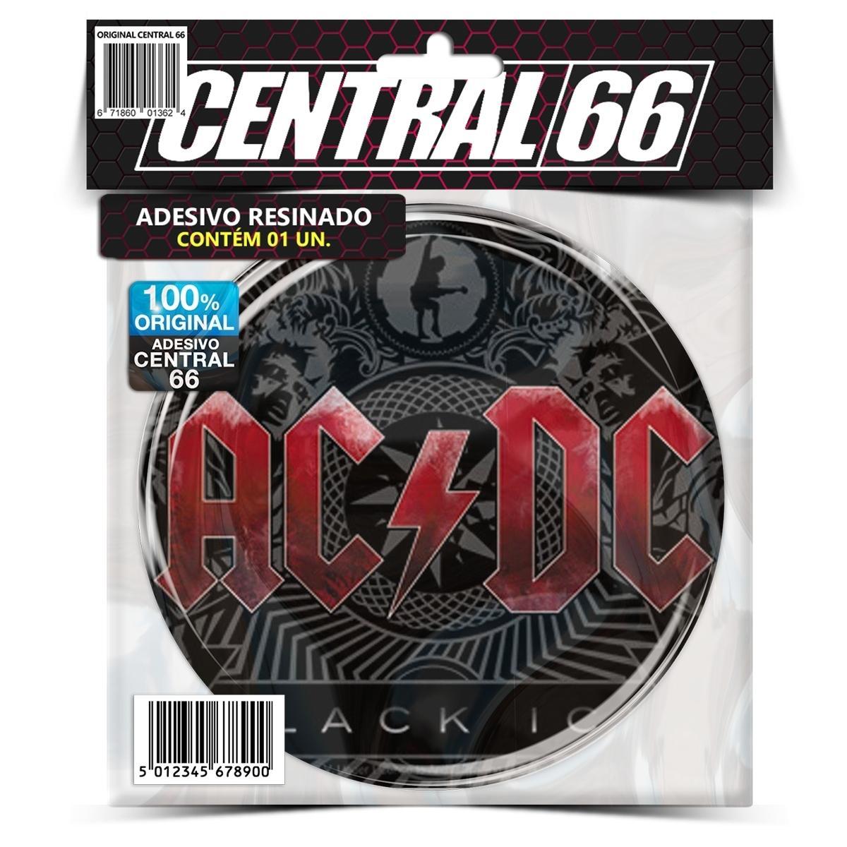 Adesivo Redondo Ac Dc Black Ice – Central 66