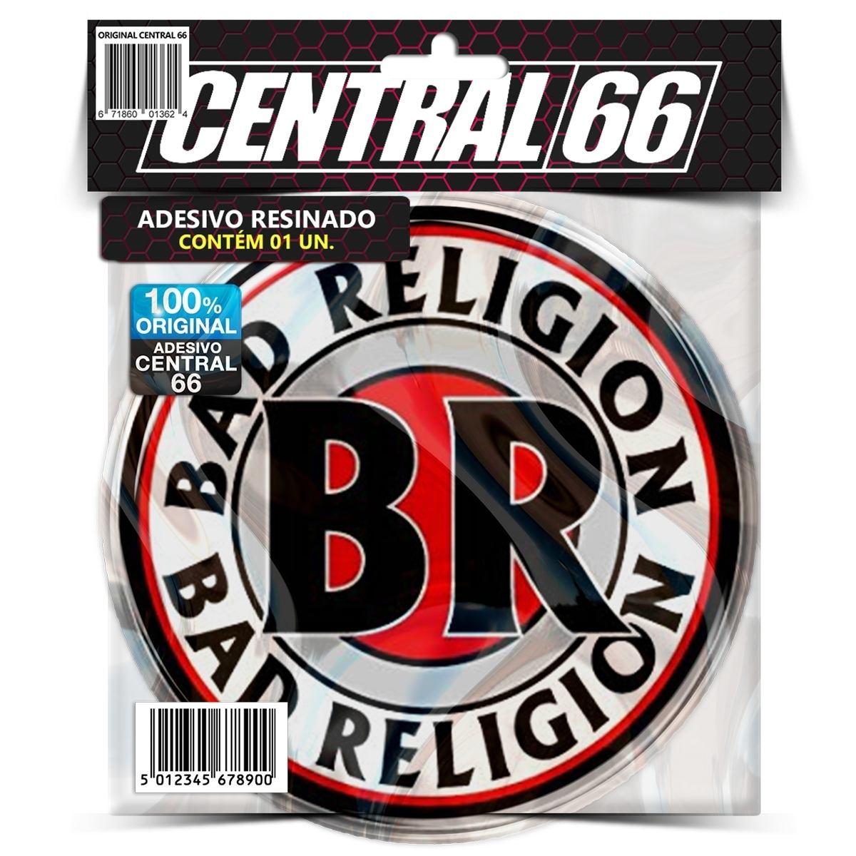 Adesivo Redondo Bad Religion – Central 66
