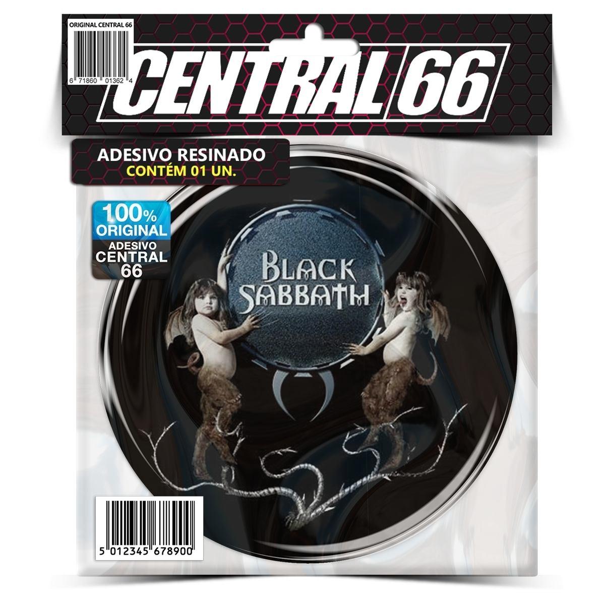 Adesivo Redondo Black Sabbath M01 – Central 66