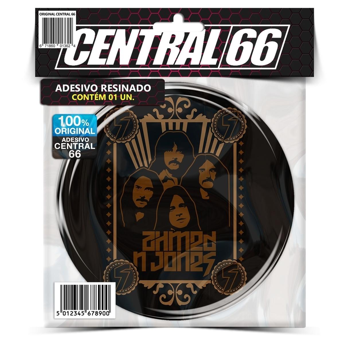 Adesivo Redondo Black Sabbath M02 – Central 66