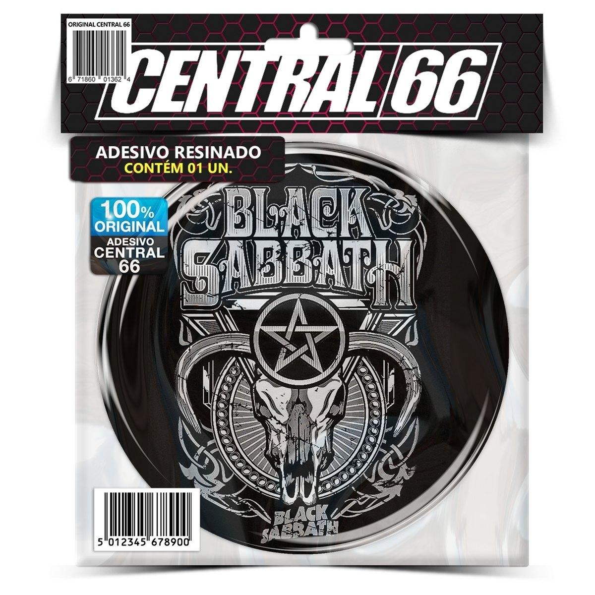 Adesivo Redondo Black Sabbath M03 – Central 66