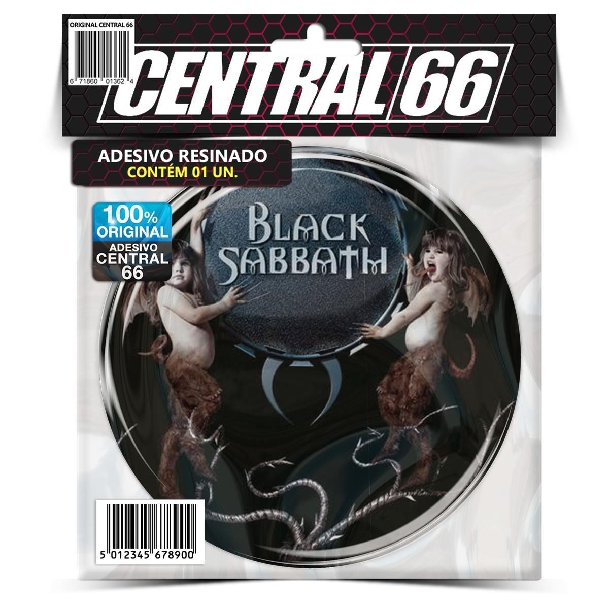 Adesivo Redondo Black Sabbath Reunion – Central 66