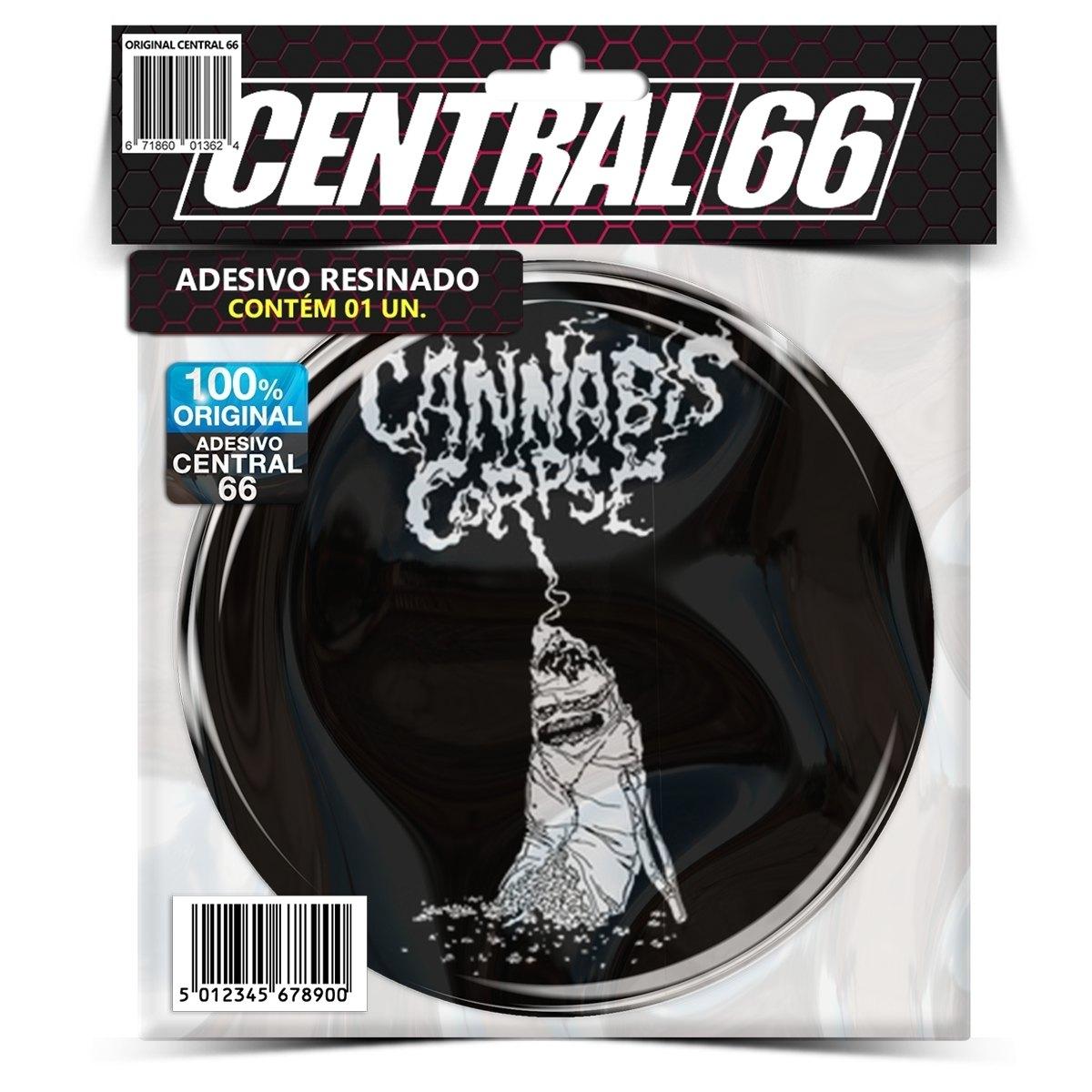 Adesivo Redondo Cannabis Corpse M04 – Central 66