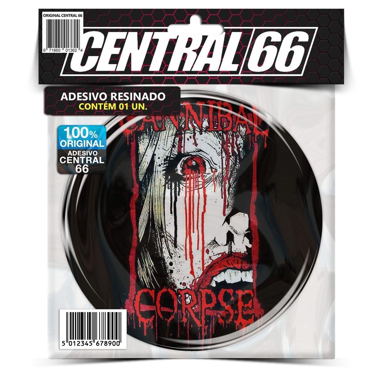 Adesivo Redondo Cannibal Corpse – Central 66