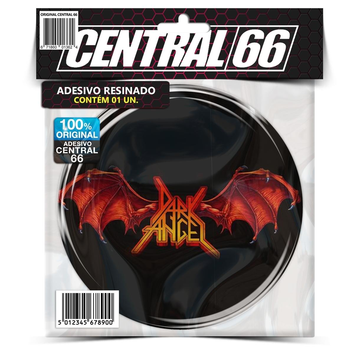 Adesivo Redondo Dark Angel – Central 66