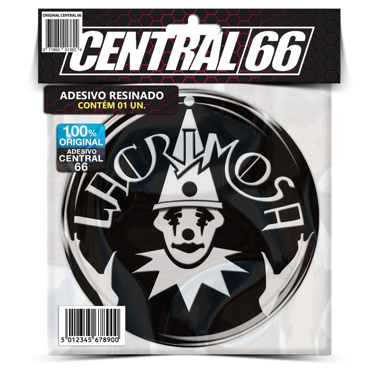 Adesivo Redondo Lacrimosa – Central 66