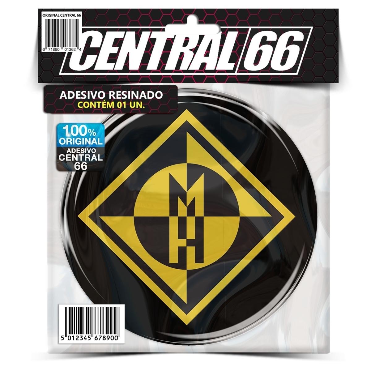Adesivo Redondo Machine Head – Central 66