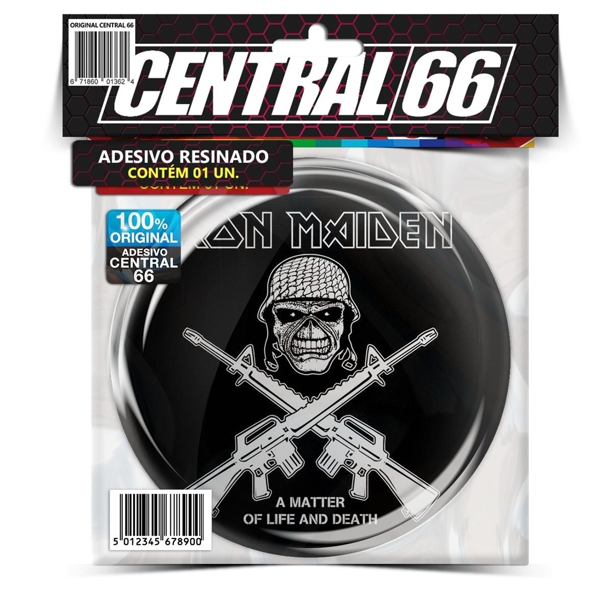 Adesivo Redondo Motorhead Lemmy Saves – Central 66