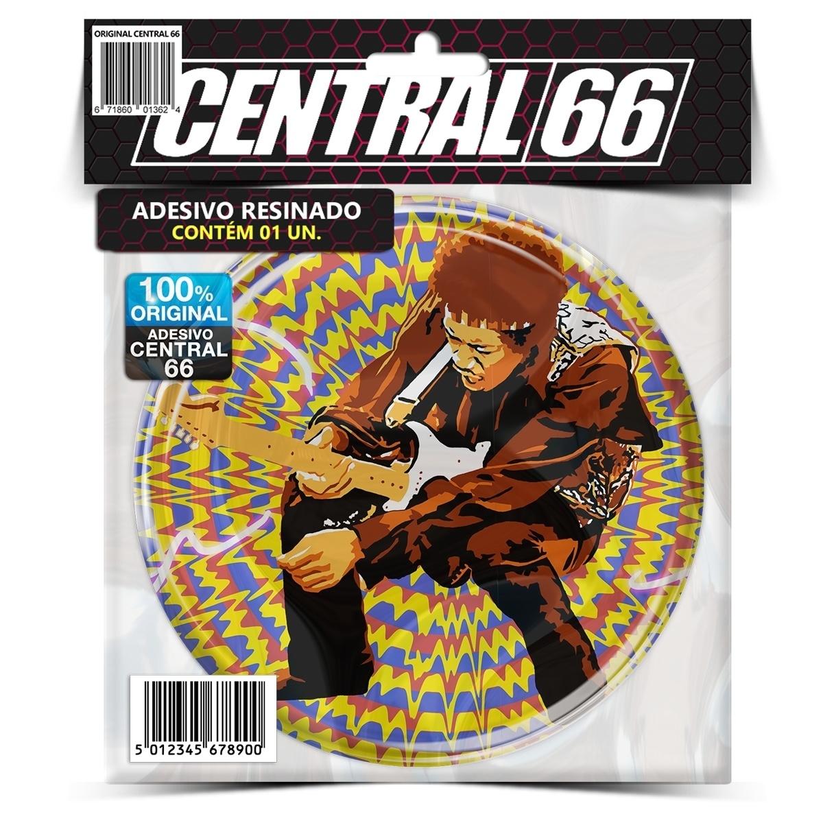 Adesivo Redondo Ozzy Osbourne – Central 66