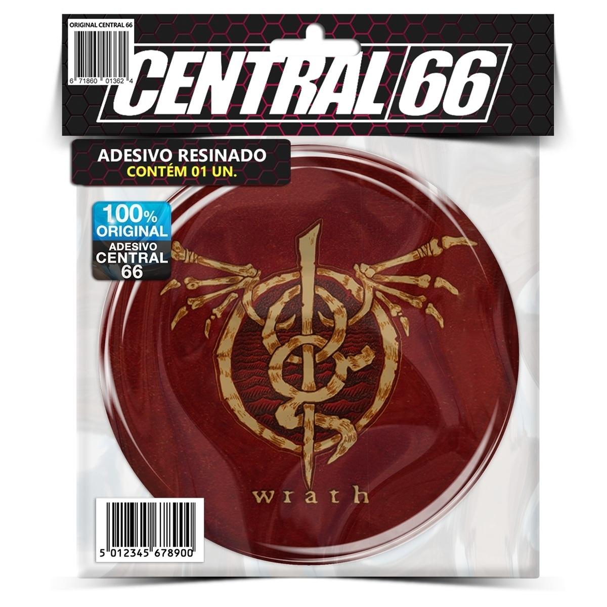 Adesivo Redondo Scorpions – Central 66